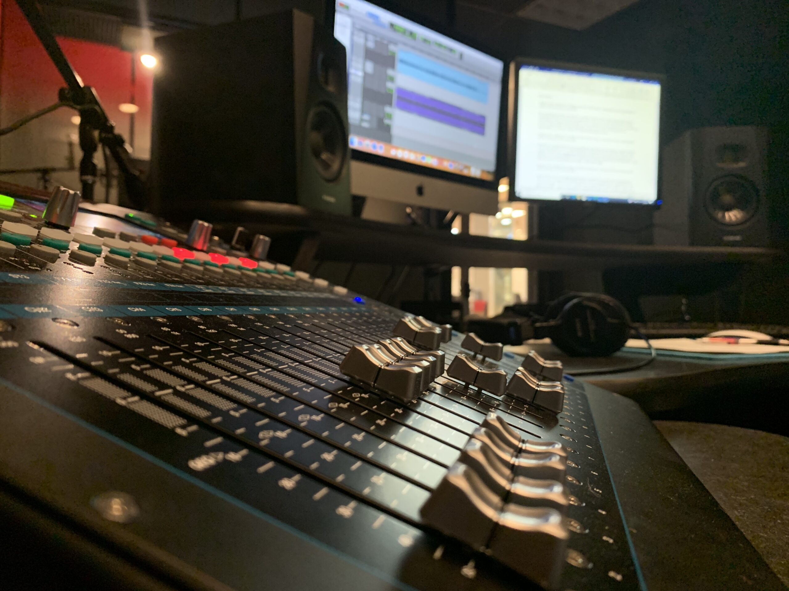 Video Editing Room